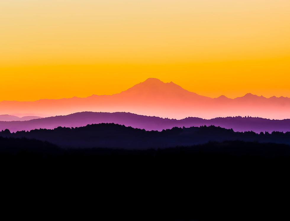 Mt. Baker, sunrise