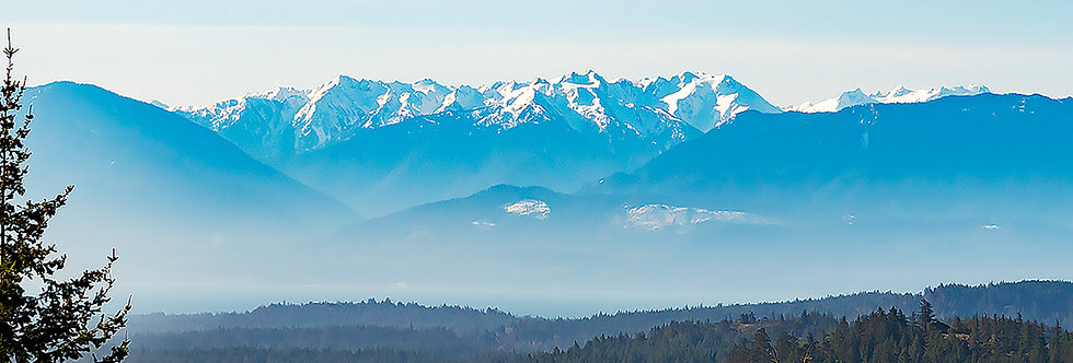 Olympic Mountain range