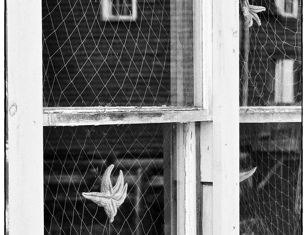 Peggy's Cover Window black and white