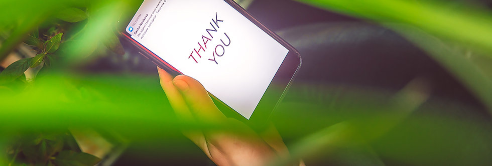 Thank you on cell