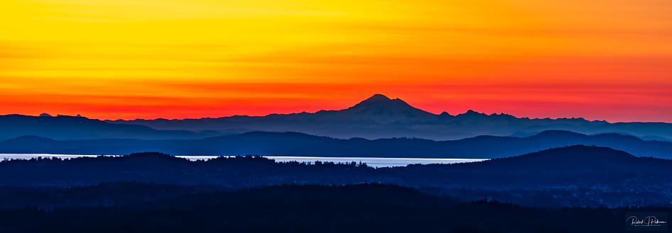 Mount Baker sunrise-signed 16X46.png