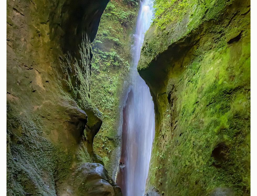 Hidden Falls at Sombrio Beach