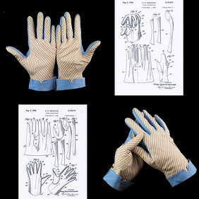 Merry Hull Gloves, Patent 1938