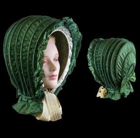 Calash bonnet, ca. 1811