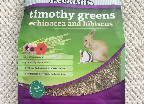 Peckish Echinacea and Hibiscus
