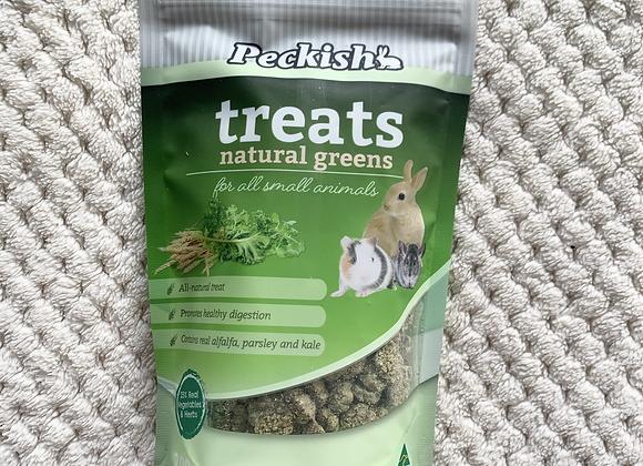 Peckish Treats / Natural Greens