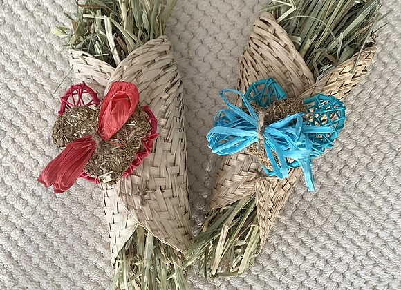 Tied Seagrass Bunches