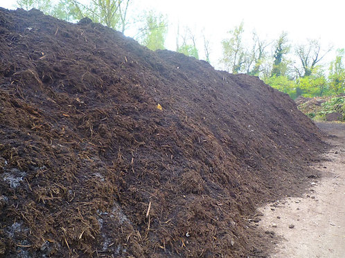 Kompost zur Bestattung - 20 bis 100 t / ha