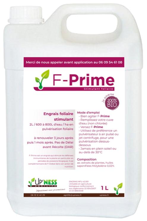 F-Prime 1 L - spécial test