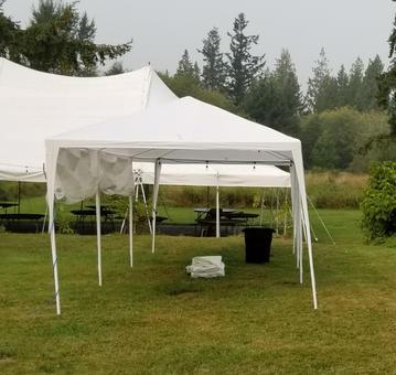 10ft x 30ft Grass Tent
