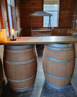Wood Barrells