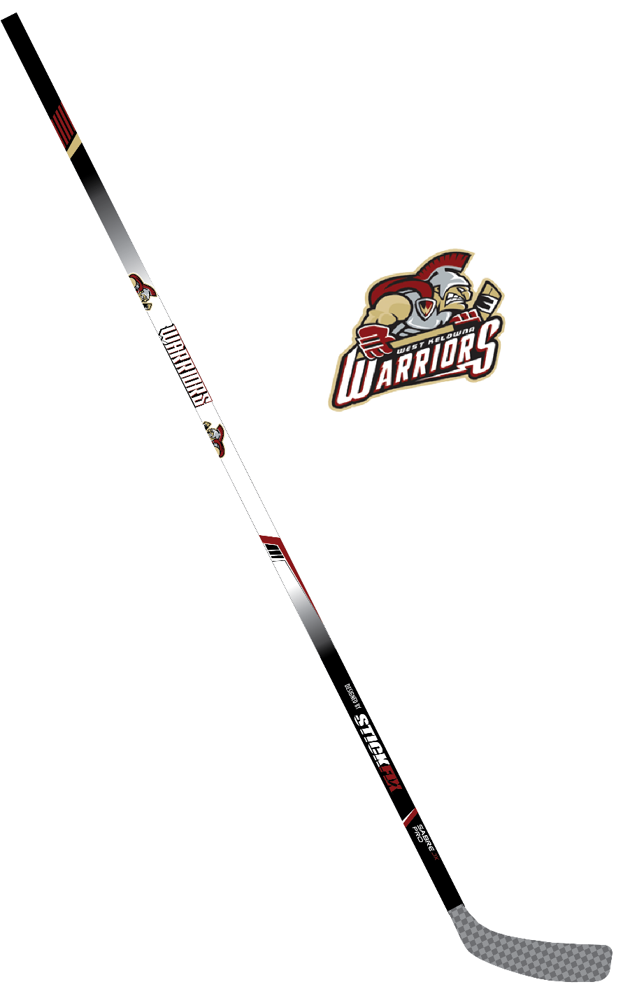 West Kelowna Warriors Stick