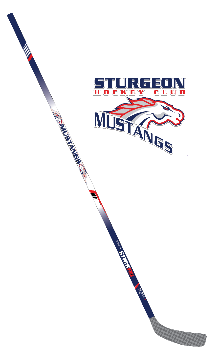 Sturgeon Mustangs Stick