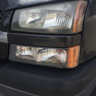 Truck Grill After Repair