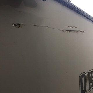Camper Before Repair