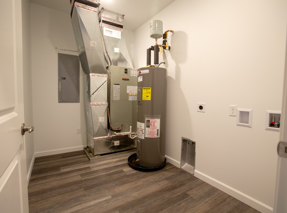 Utility Room with Washer/Dryer Hookups