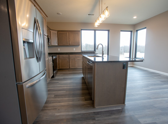 Stainless Appliances with Dishwasher