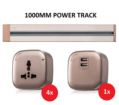 Shubox 1000mm Power Track Bundle B