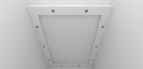 L Box False Ceiling