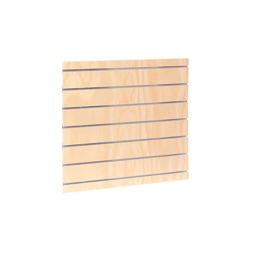 MAXE SLOT SYSTEM LAMINATED TIMBER PANEL TO FIT 600MM BAY 587 W X 558 H X 17MM TH