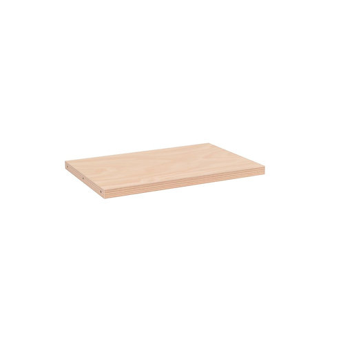 MAXE LAMINATED TIMBER SHELF TO FIT 600 MM BAY 593.5 L X 400 D X 30MM THICK