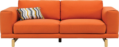 MONZA 2 Seater Fabric Sofa