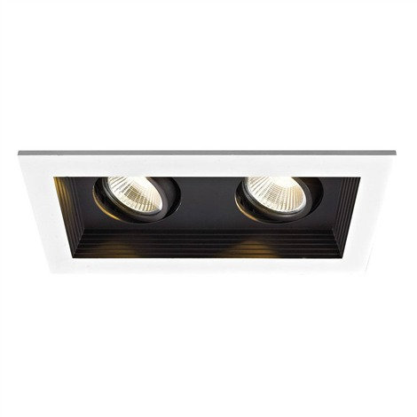 LUGO Dimmable Recessed LED Double Spotlight / LC2015/2L35