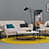 Thumbnail: Felicity Coffee Table - White, Matt Black