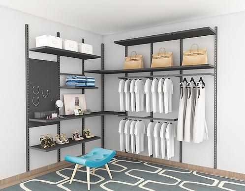 BASEL - L Open Concept Wardrobe