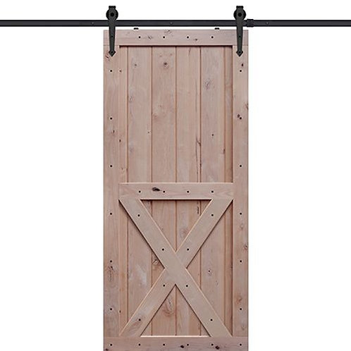 Shubox X Two Panel Barn Door