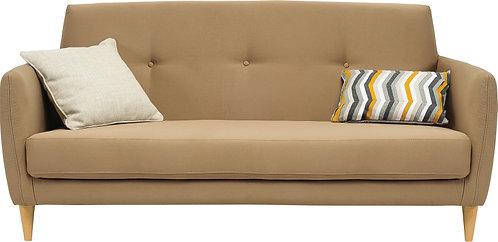 BALLOT 3 Seater Fabric Sofa