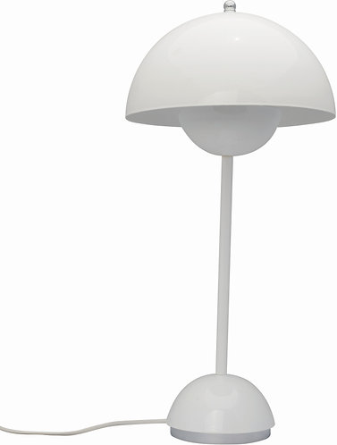 Beetles White Iron Table Lamp