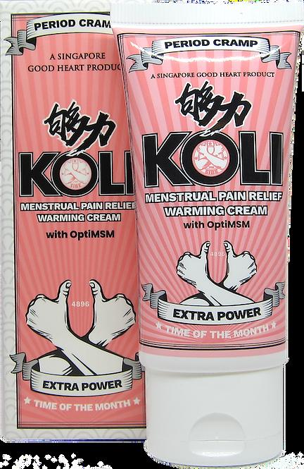 Koli Menstrual Pain Relief Warming Cream (Extra Power) - 60g