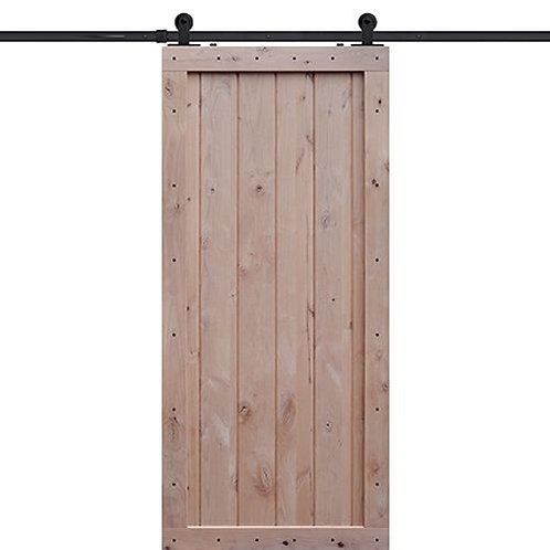 Shubox One Panel Barn Door