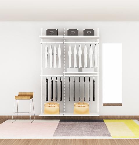 HILLA - I Open concept wardrobe