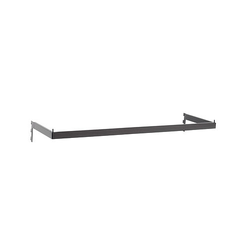 MAXE HANGRAIL RECTANGULAR SECTION TO FIT 900MM BAY 898 L X 273MM D