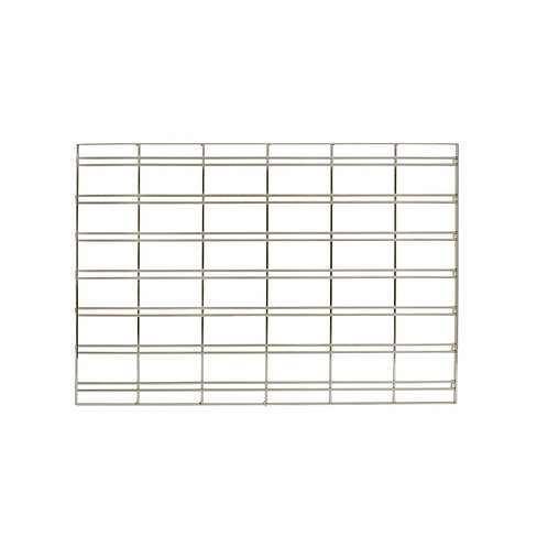 MAXE SLOT SYSTEM MESH PANEL LARGE TO FIT 900MM BAY 890 W X 558 H X 17MM D