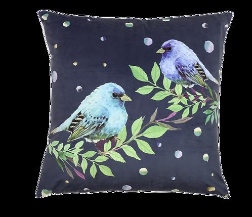 Blue Chirps Cushion