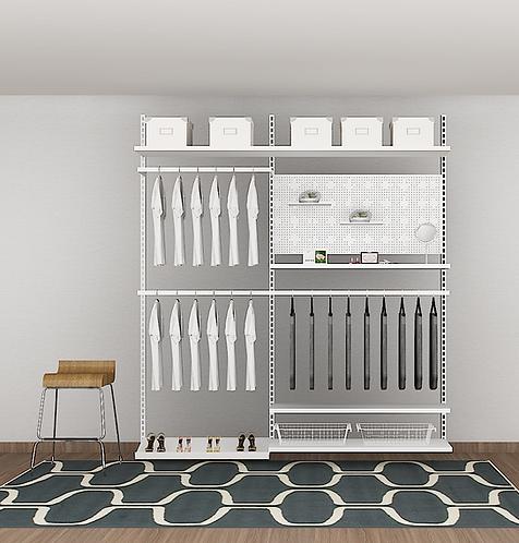 FLINT - I Open concept wardrobe