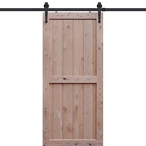 Shubox Two Panel Barn Door