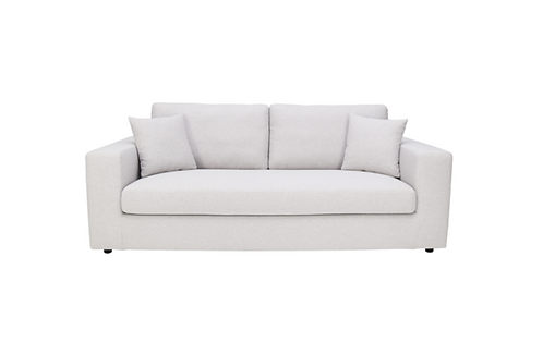 Jenny 3 Seater Sofa - Light Grey