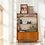 Thumbnail: Retro Shelf Cabinet