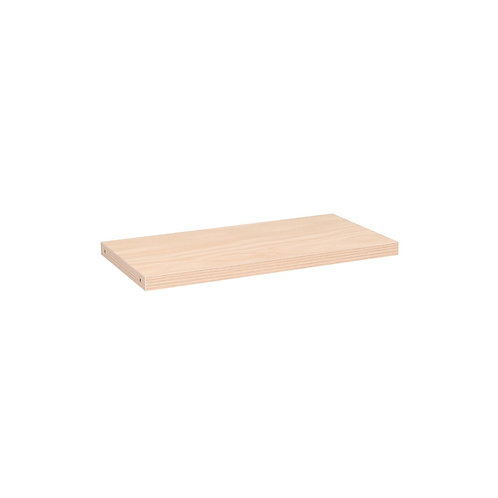 MAXE LAMINATED TIMBER SHELF TO FIT 600 MM BAY 593.5 L X 300 D X 30MM THICK