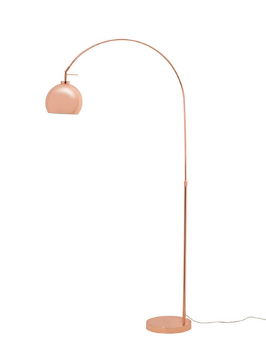 Slug Floor Lamp - Copper