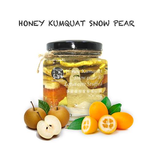 Honey Kumquat & Snow Pear & Lotus Core (Nourishing)