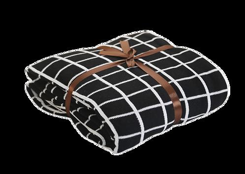 Mondi Throw Blanket - Black