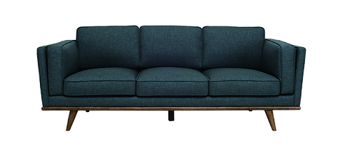 Carter 3 Seater Sofa - Space Blue