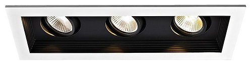 LUGO Non - dimmable Recessed LED Triple Spotlight / LC2015/3L53