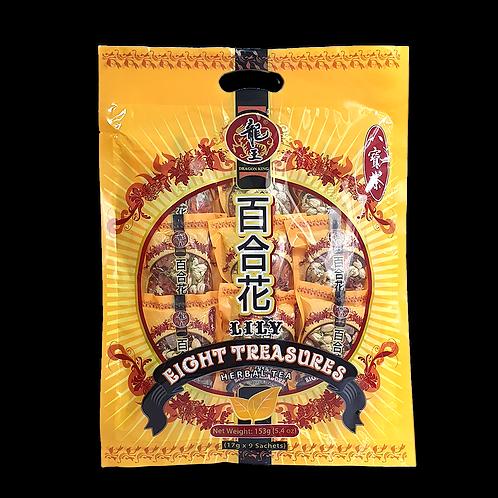 Dragon King Lily Eight Treasures Herbal Tea - 9s / 龙王百合花八宝茶 - 9包