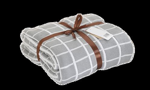 Mondi Throw Blanket - Grey